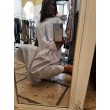 Maxi T-shirt Woby Denim Glam White Cotton Dress