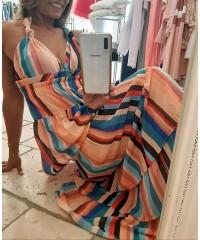 Abito Eljeana Luxury Edition Fashion Glam Multicolor Edizione Limitata
