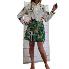 Camicia E Gonna Corta Bubys Tropical Style Edizione Limitata