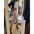 T-shirt Miss D'elle Bianco Cotone Fascia Tulle