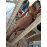 Mini Abito Debbie Famous Dress Pink Lux