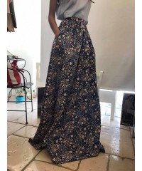GONNA DA SOGNO ISABEL GARCIA MAXI TOTAL LONG FLORAL CHIC