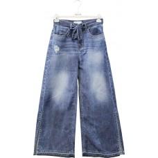 Jeans Markup Woman Palazzo 5 Tasche Con Spacchi E Fusciacca