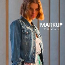 Giubbino In Jeans Markup Woman Street Style Bijoux