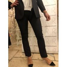 Pantaloni A Sigaretta Markup Woman Nero Senza Tasche