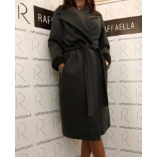 Cappotto grey con cintura N staff