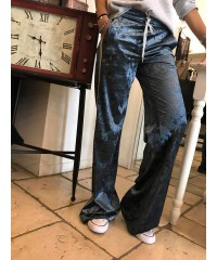 PANTALONI VELLUTO JEANS NUALY POP CASUAL CHIC