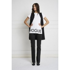 T-shirt Lunga Camelia Cotton Vogue Strass Queguapa