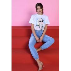 Baggy Jeans Lippia Queguapa Milano Denim Glam