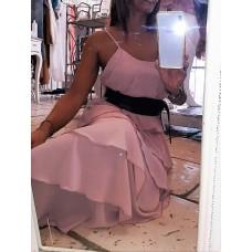 Abito Waves Glam Queguapa Milano Pink Mood