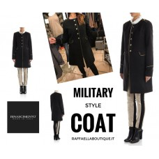 CAPPOTTO MILITARY STYLE LUREX GOLD RINASCIMENTO AUTENTICO