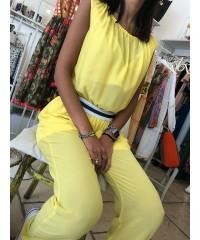 Tuta vestito yellow summer rinascimento