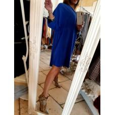 Maglia Abito America Fashion Show Cobalto Style
