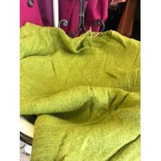 Maglioncino Gionata Denim Glam Verde Con Intrecci