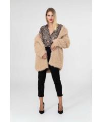 Cappotto Pelliccia Fur Free Ecologica Markup Woman