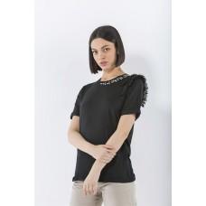 T-shirt Roberta Markup Woman Cotone Pietre Bijoux