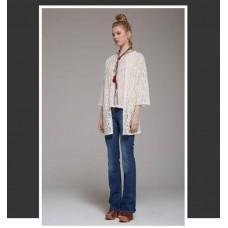 Pantalone Jeans Salsa Tela Cotone Elasticizzato Zampa  Miss Miss by Valentina