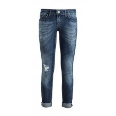 Pantalone Jeans Graffiato Puro Denim Stretch Miss Miss by Valentina